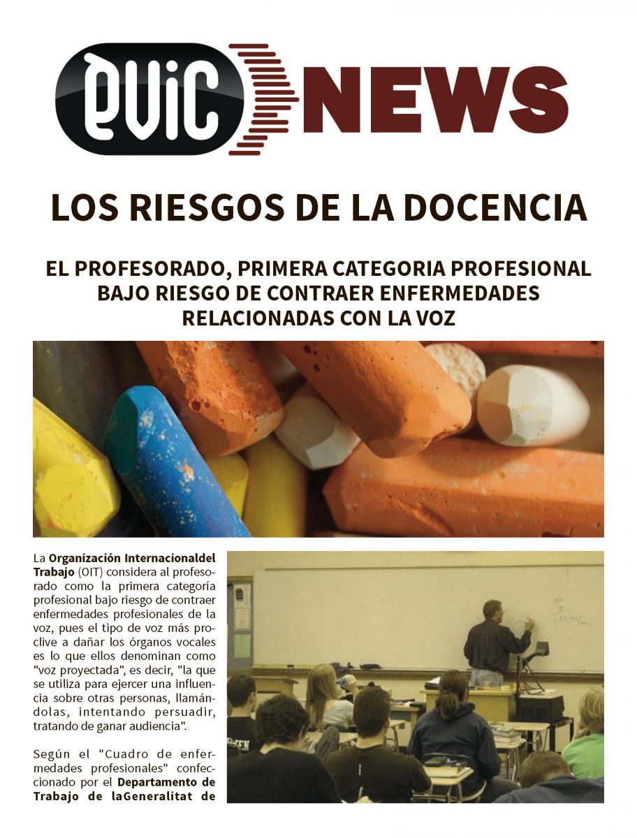 LOS RIESGOS DE LA DOCENCIA | Èvic Formació